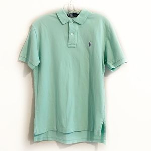 Polo by Ralph Lauren Logo Mint Green Polo Shirt